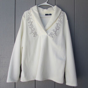 Basic Editions White Sweater NWT!
